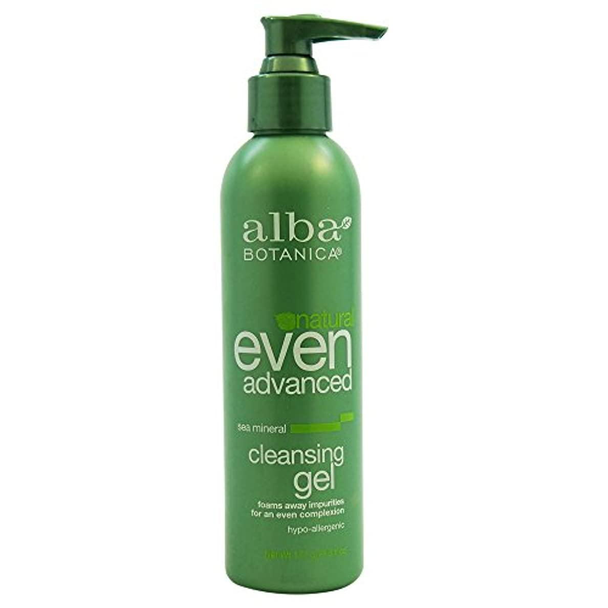 専門報いる忌避剤Alba Botanica - アルバの高度の海のミネラル清潔になるゲル - 6ポンド [並行輸入品]