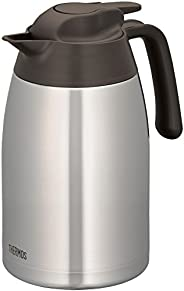 Thermos THV-1501 Vacuum Insulated Carafe, 1.5L, Stainless Brown