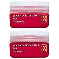 【X2個セット】 ナカノ スタイリング ワックス 5 スーパーハード 90g ≪ナカノスタイリングワックス2002≫ 【スタイリング STYLING NAKANO 中野製薬株式会社 NAKANO】