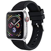 Christmas Hot Sale!!!Natarura Sports Soft Silicone Replacement Watch Band Strap for Apple Watch Series 4 44MM/40MM