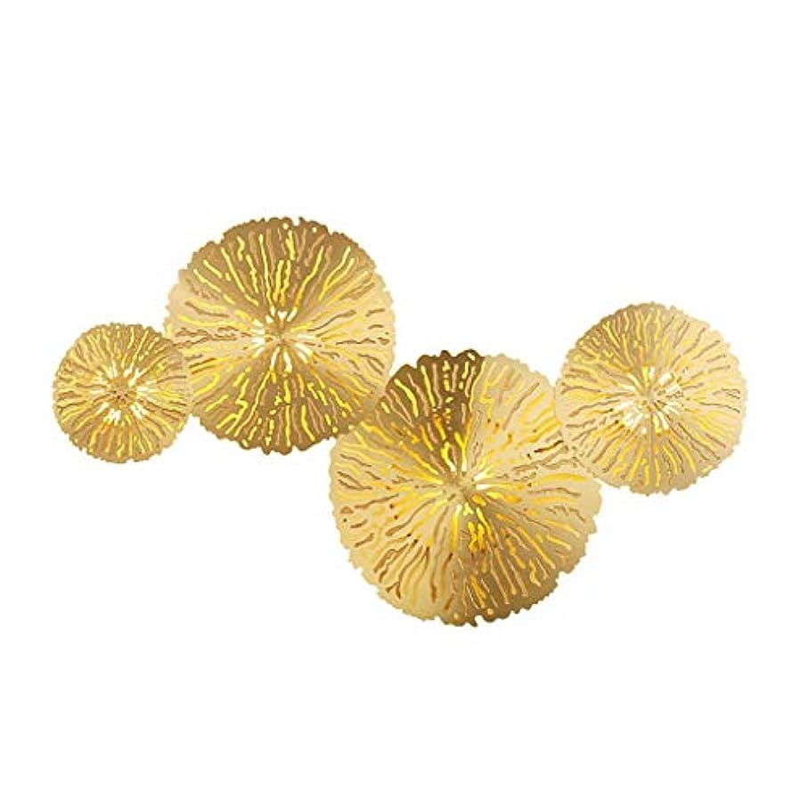 スキャン老朽化した虚弱すべての銅led壁取り付け用燭台照明器具現代飾る屋内壁ライトラウンドウォールランプ用リビングルーム寝室暖かい白