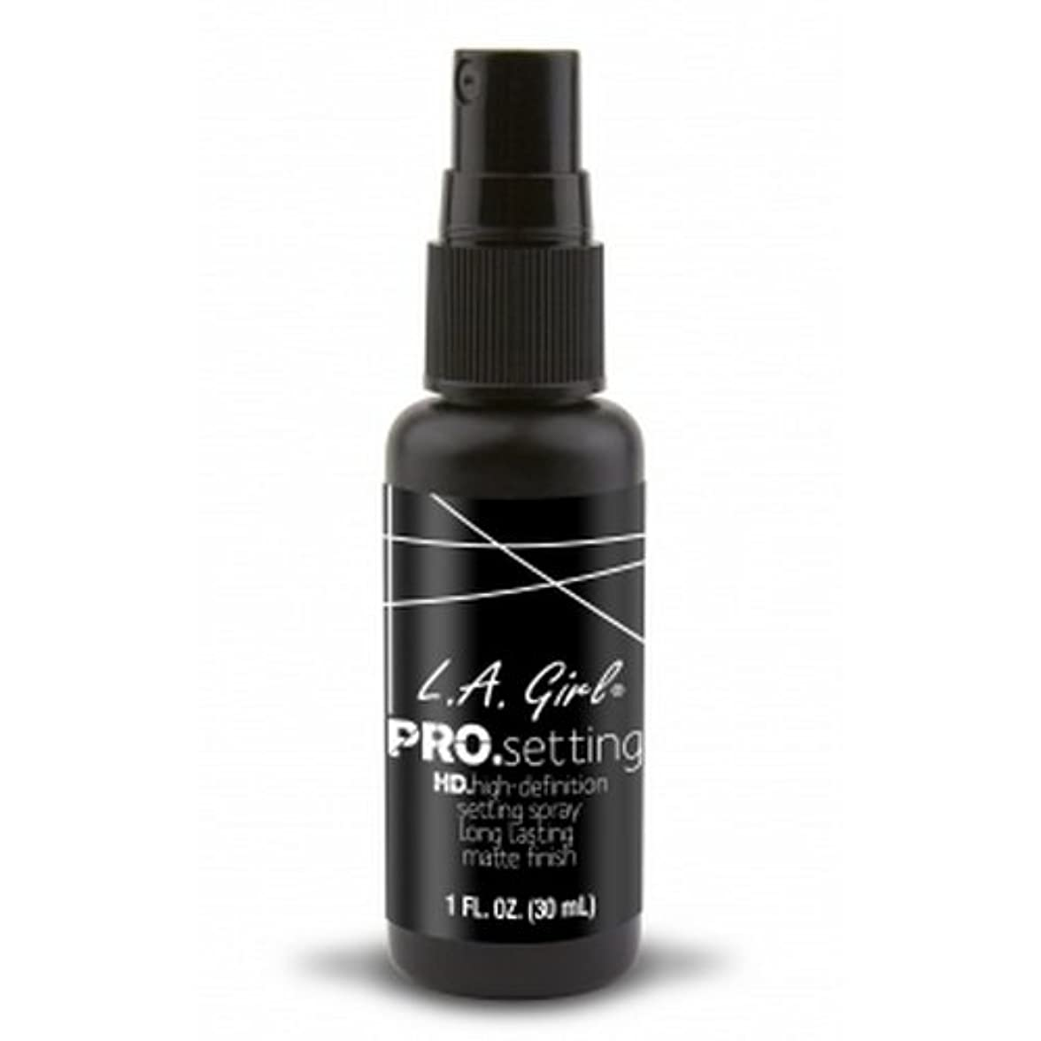 推測順応性オーガニック(3 Pack) L.A. GIRL Pro Setting Spray - Matte Finish (並行輸入品)