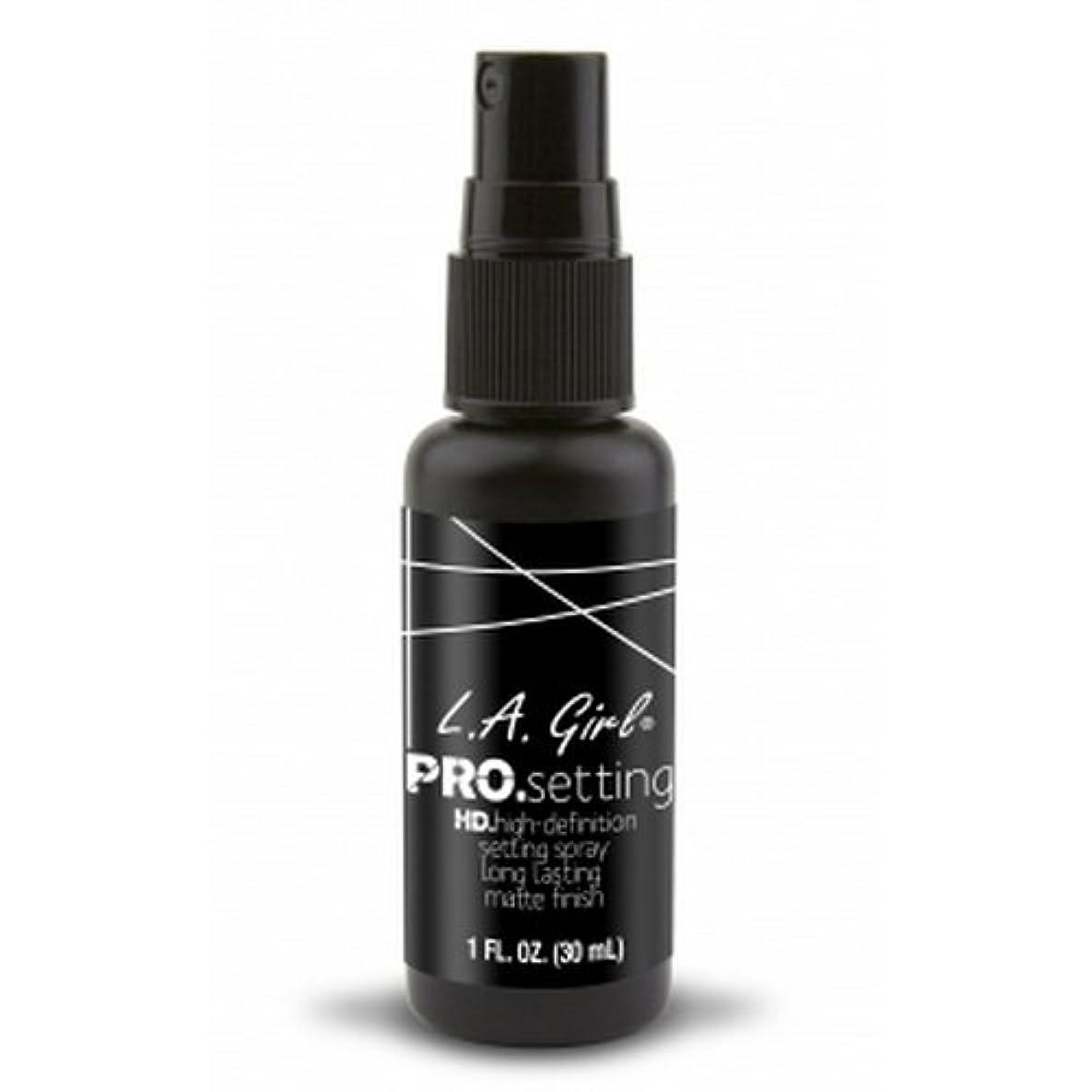 羽生きるパンフレット(3 Pack) L.A. GIRL Pro Setting Spray - Matte Finish (並行輸入品)