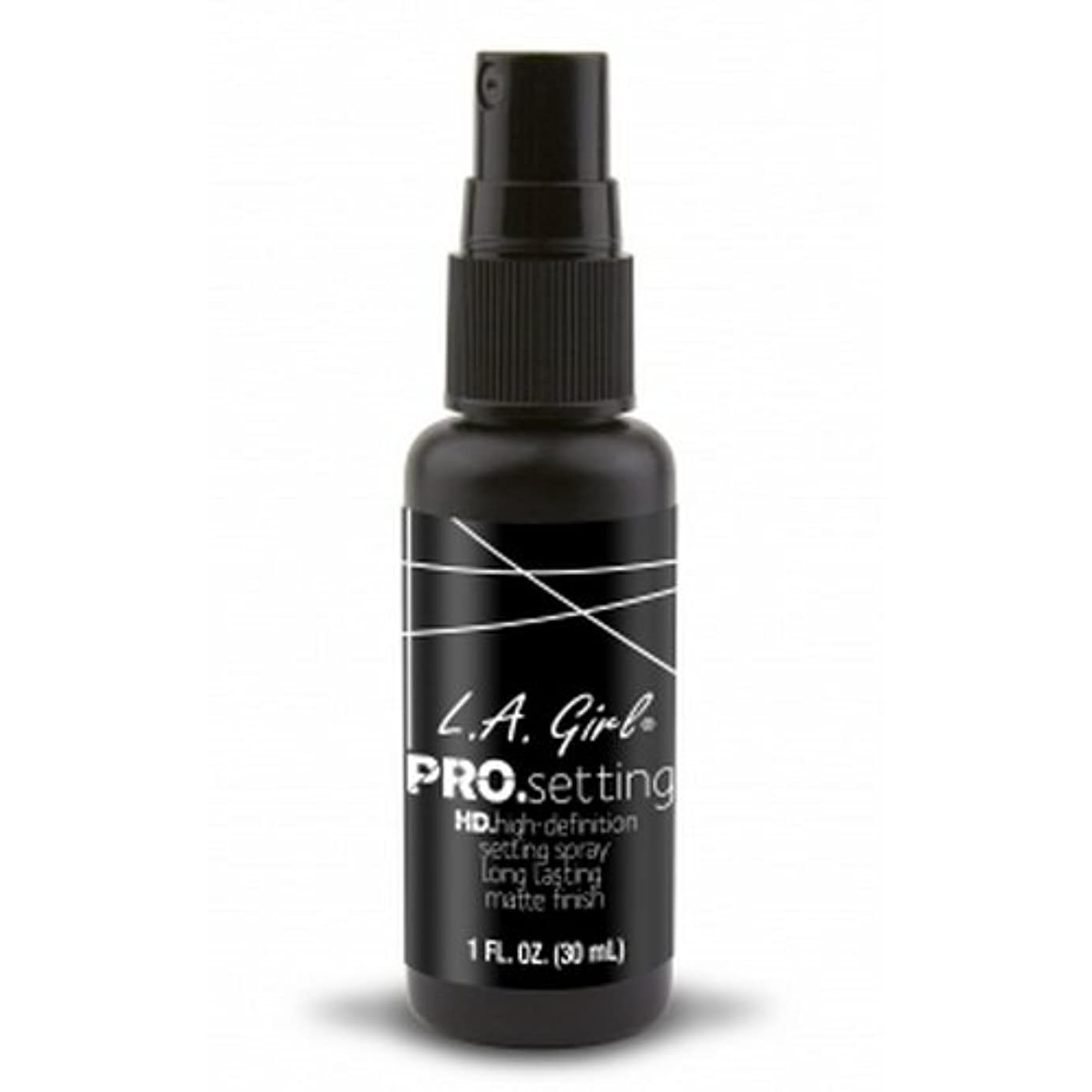 腐食するわがままズームインする(3 Pack) L.A. GIRL Pro Setting Spray - Matte Finish (並行輸入品)
