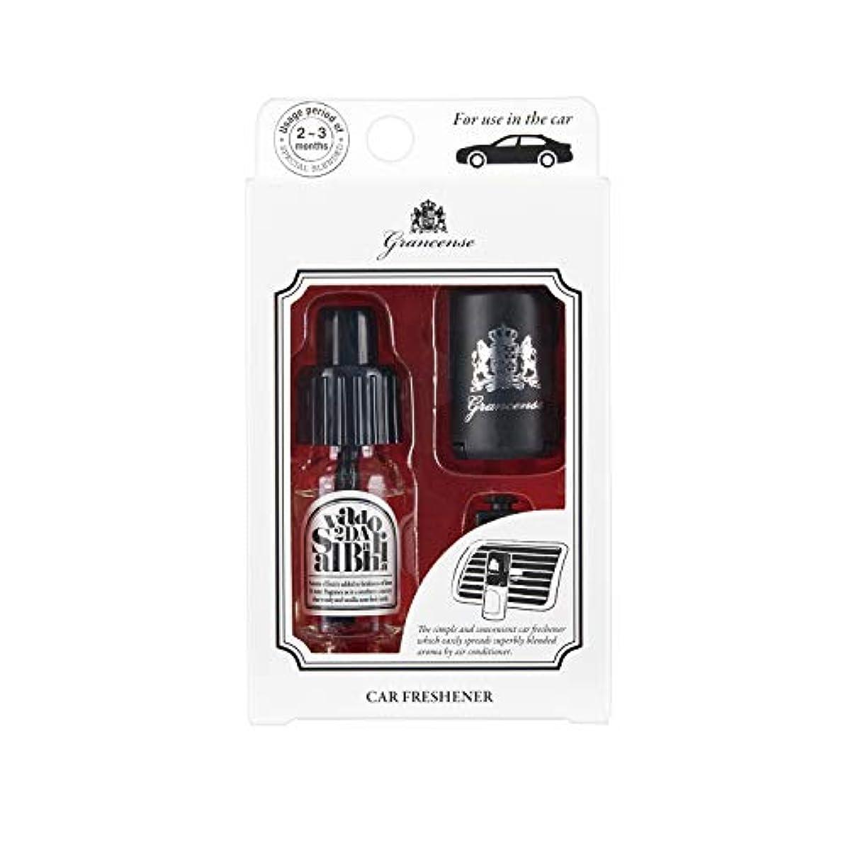 グランセンス カーフレッシュナー サルバドール 10mL (車用芳香剤 カーディフューザー 2-3ヶ月 日本製)