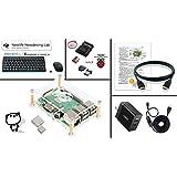 Raspberry Pi 3 Model B+ アルティメットキット ( ラズベリーパイ3+ / ABSクリアケース / SanDisk Ultra A1 32GB ( NOOBS Installed ) / HDMIケーブル / Anker社製 電源( Power Port 2 Eco ) / スイッチ付きUSBケーブル / iBUFFALO microSDカードリーダー&ライター / ヒートシンク / 日本語セットアップ説明書 & サポートカード (2.4GHz ワイヤレスキーボード&マウス ( Logicool MK245 Nano ) 黒)
