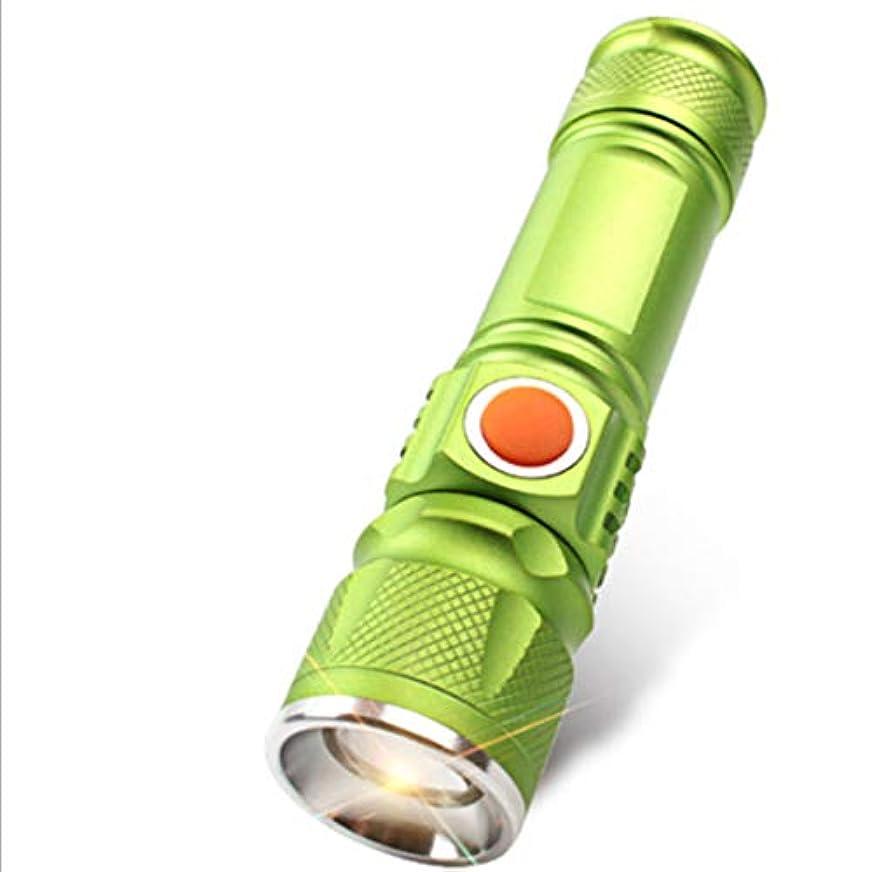 定義微生物ランタンノウ建材貿易 懐中電灯多機能は、毎日の使用のためのミニUSB充電検索ライトを導いた (色 : オレンジ)