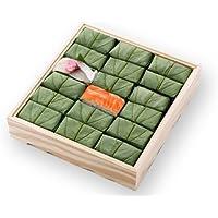 [ 高野街道名産 柿の葉寿司 ] 柿の葉すし(小鯛・鮭)18個入