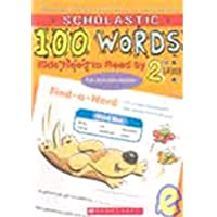 100 Words Kids Need to Know by 1st Grade