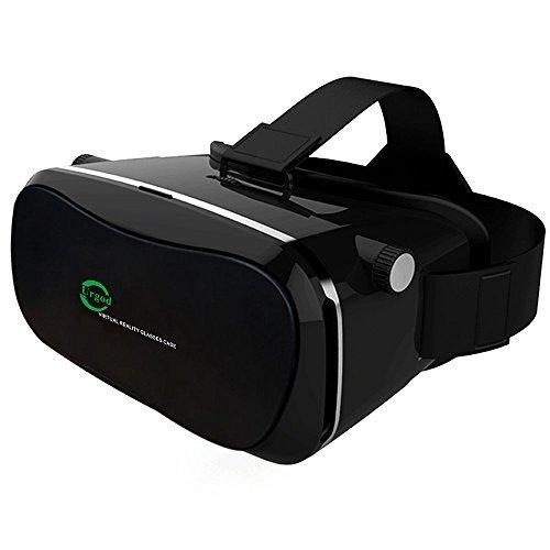 Urgod 3D VR ゴーグル ヘッドセット•メガネ/VR BOX (iPhone と アンドロイド全ての