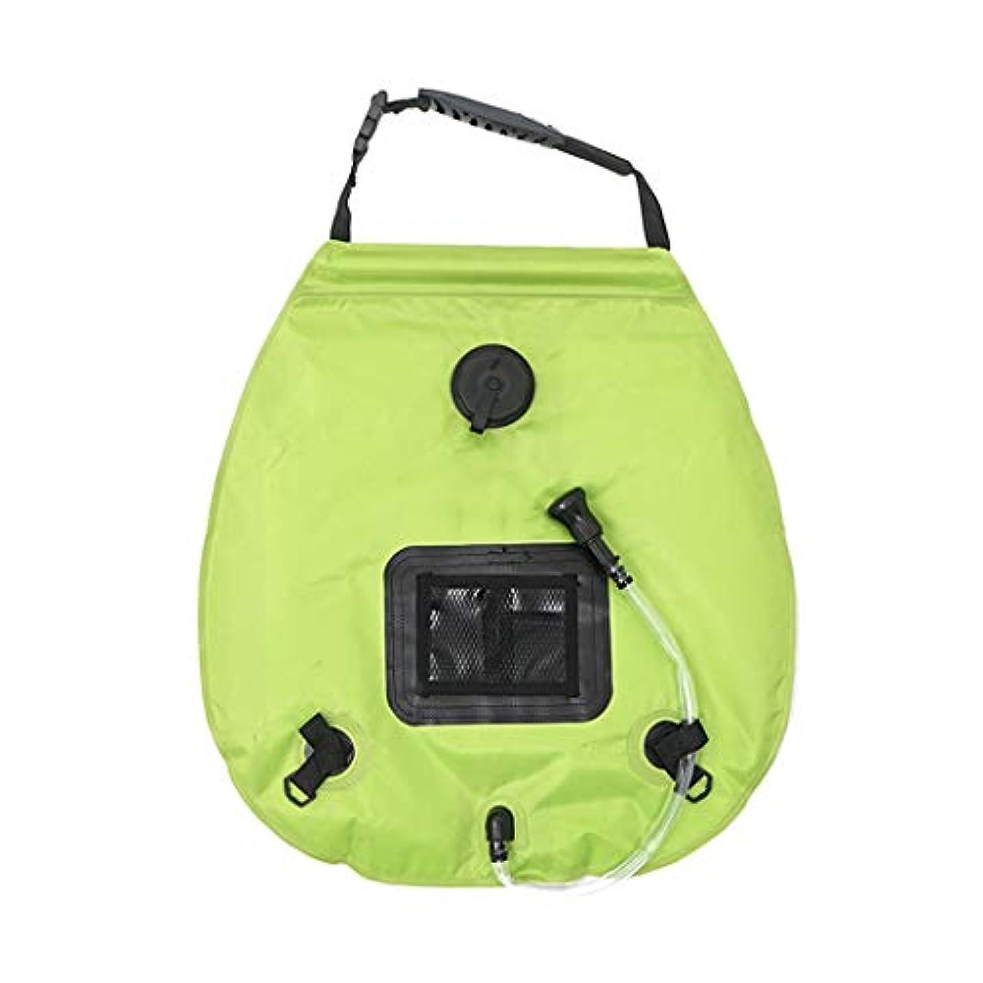 デッドロック状鷲ソーラー湯たんぽ_アウトドア入浴バッグキャンプソーラー湯たんぽポータブルフィールド入浴ウォーターバッグ20L水貯蔵バッグ