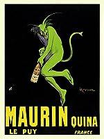 アートポスター Leonetto Cappiello: Maurin Quina le Puy