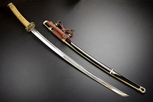 模造刀-美術刀剣-関 大般若長光大刀 背金付(薄刃)