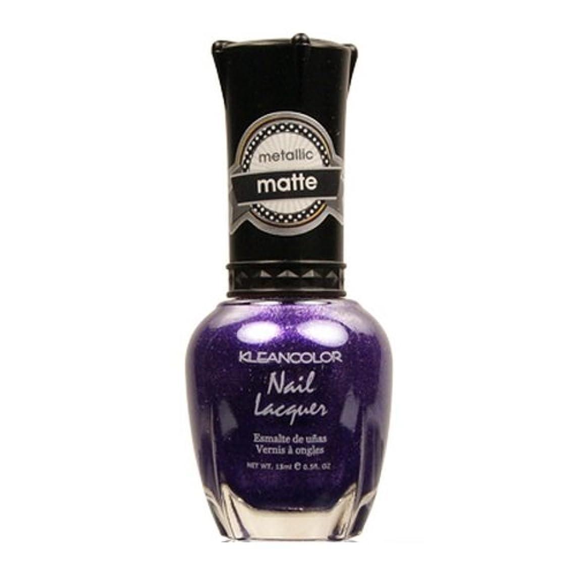 大洪水薄めるパーティー(6 Pack) KLEANCOLOR Matte Nail Lacquer - Bright&Breezy (並行輸入品)