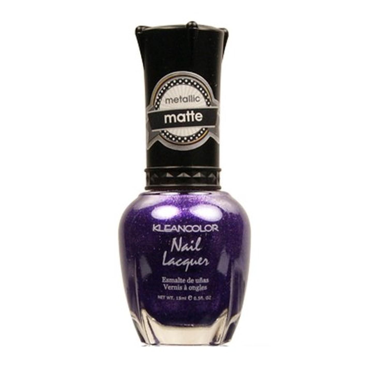 調整うぬぼれたきらめき(3 Pack) KLEANCOLOR Matte Nail Lacquer - Bright&Breezy (並行輸入品)