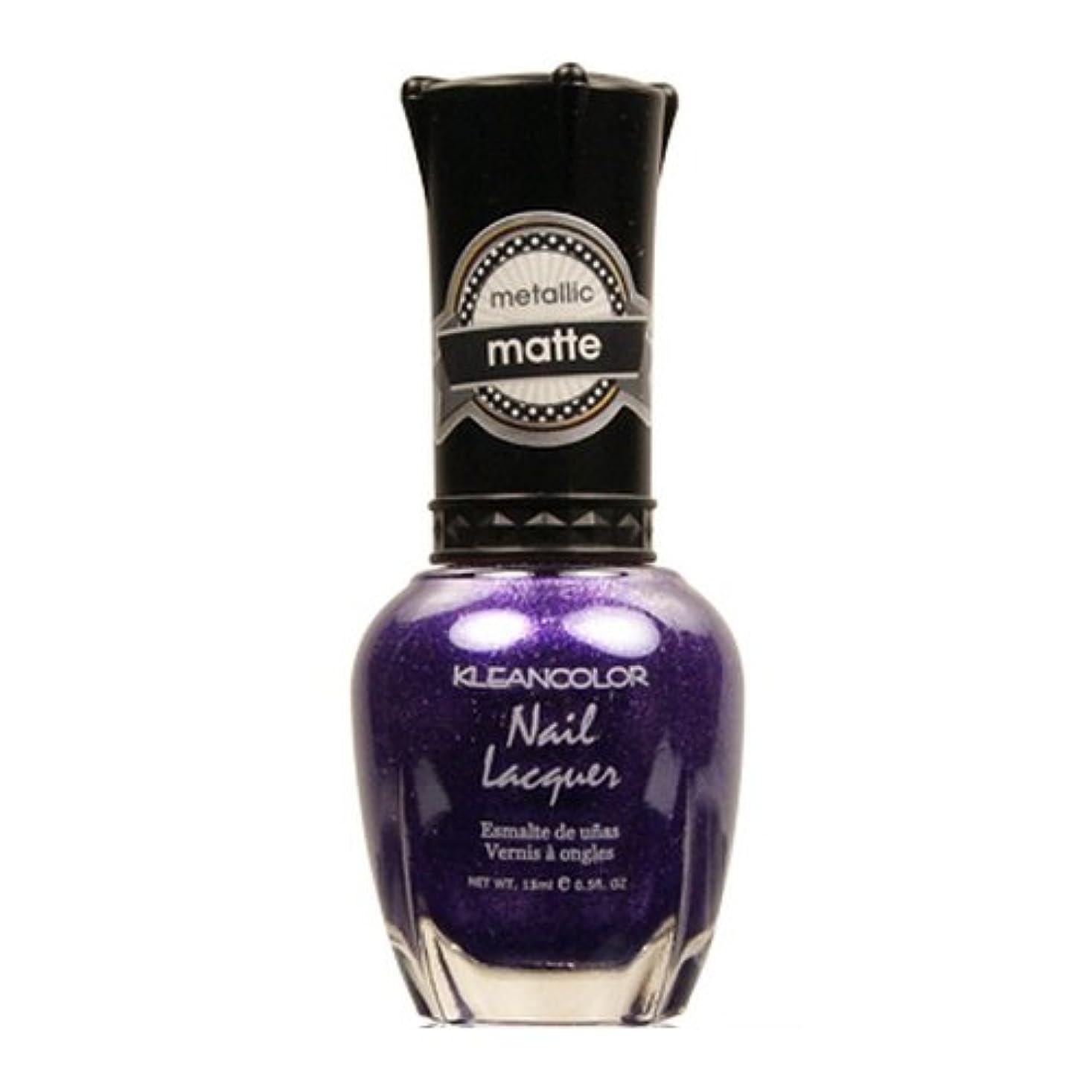 原子洪水整然とした(6 Pack) KLEANCOLOR Matte Nail Lacquer - Bright&Breezy (並行輸入品)