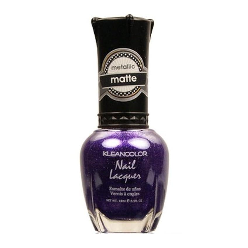 食物頬骨騒々しい(6 Pack) KLEANCOLOR Matte Nail Lacquer - Bright&Breezy (並行輸入品)