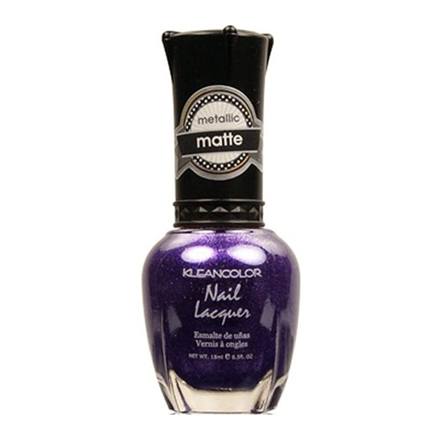 カタログレザー洗剤(6 Pack) KLEANCOLOR Matte Nail Lacquer - Bright&Breezy (並行輸入品)