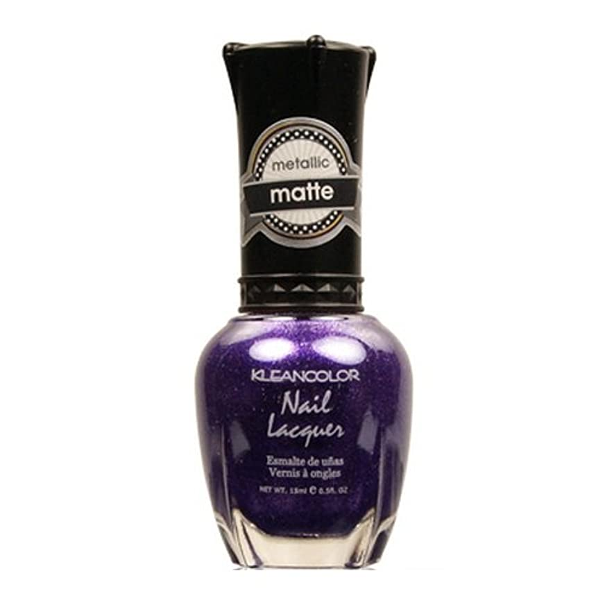 だます防衛士気(6 Pack) KLEANCOLOR Matte Nail Lacquer - Bright&Breezy (並行輸入品)