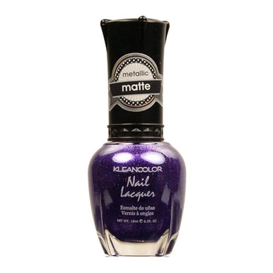 くぼみ盗賊南方の(3 Pack) KLEANCOLOR Matte Nail Lacquer - Bright&Breezy (並行輸入品)