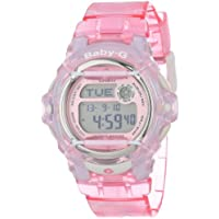 Casio Baby-G Digital Female Pink Waterside Watch BG-169R-4 BG-169R-4DR