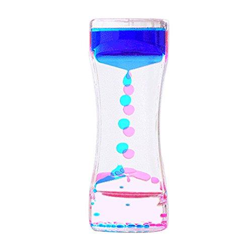 オイルタイマー ゴシレ Gosear カラフルな液体モーションタイマーバブラーデスクトップオイルドロップおもちゃそわそわおもちゃ子供ギフト量1ランダム色
