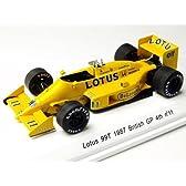 REVE 1/43 Lotus 99T 1987 British GP 4th No11 Satoru Nakajima