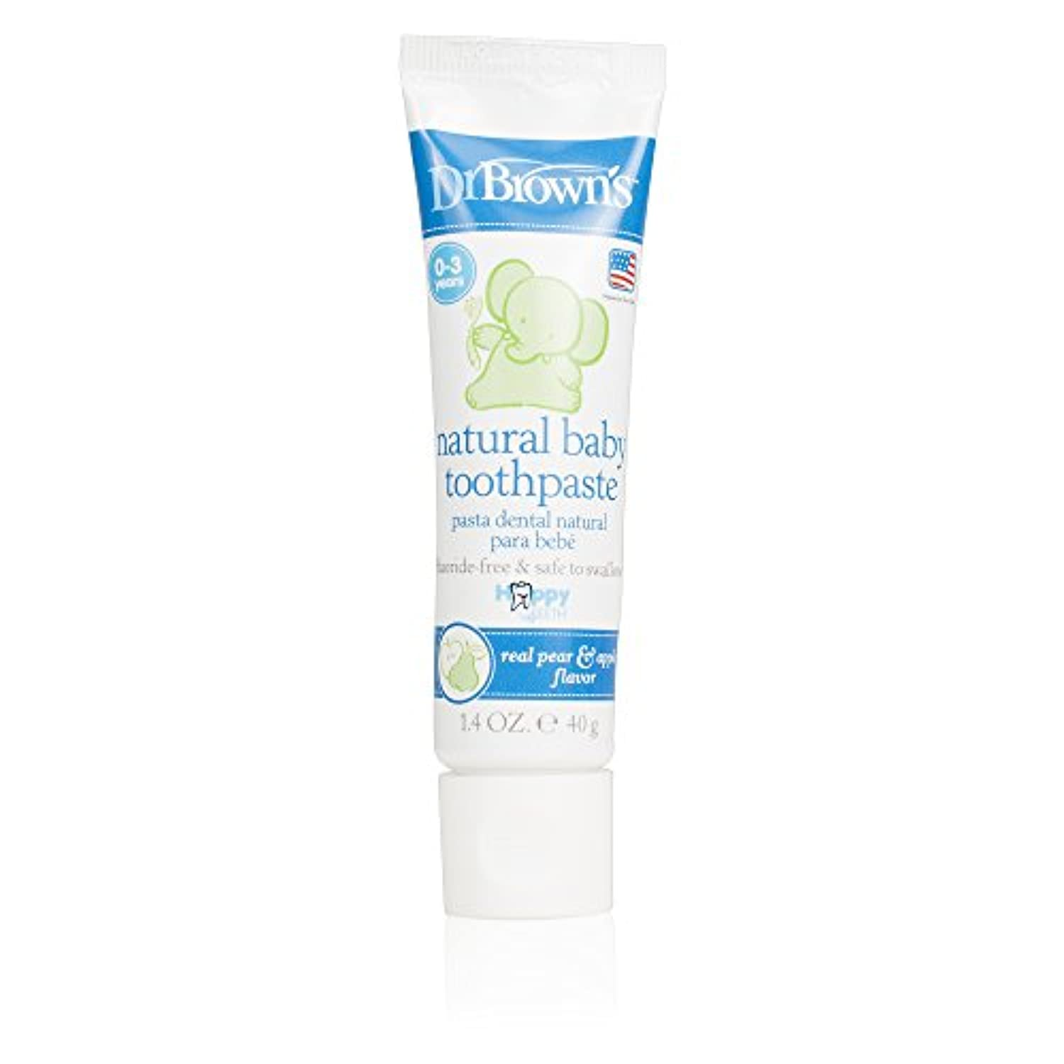 Dr. Brown's Happy Teeth Fluoride-Free Toothpaste, 1.4 Ounce by Dr. Brown's