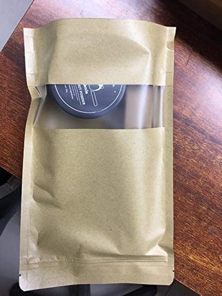 ミント 歯を白くする 活性炭ホワイトニング コーヒー•タバコ•ワインによる黄ばみを取り除く,と竹製歯ブラシ パック (60g activated cocont charcoal powder +bamboo toothbrush...