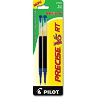 Refill for Precise V5 RT Rolling Ball, Extra Fine, Blue Ink, 2/Pack (並行輸入品)