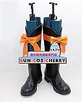 【サイズ選択可】コスプレ靴 ブーツ Z3-0113 ラブライブ! Love Live! KiRa-KiRa Sensation! 小泉花陽 こいずみはなよ 男性27CM