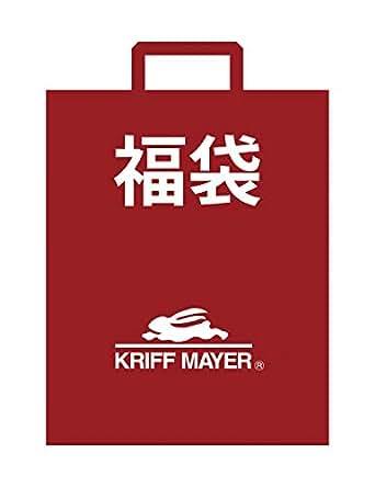 (クリフメイヤー) KRIFF MAYER 【福袋】 メンズ 5点セット& トートバッグ(マウンテンジャケット フリース スウェット ロンT サコッシュ) L