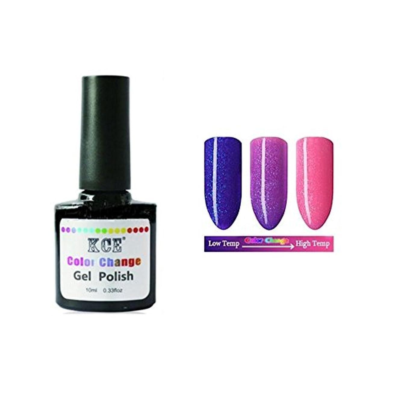 カテナ工場重要な1ボトル10ml 温度によって色が変わる ネイルジェル 変色ジェルネイル UV/LEDジェルネイルアート