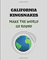 California Kingsnakes Make The World Go Round: 2019-2023 Five Year Diary Planner