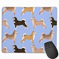 感謝祭のパイPitbull - 犬とパイ、Pitbull、かわいいPitbull、Pitbulls、感謝祭、パイ、食べ物 - Blue Mousepad 25 x 30 cm