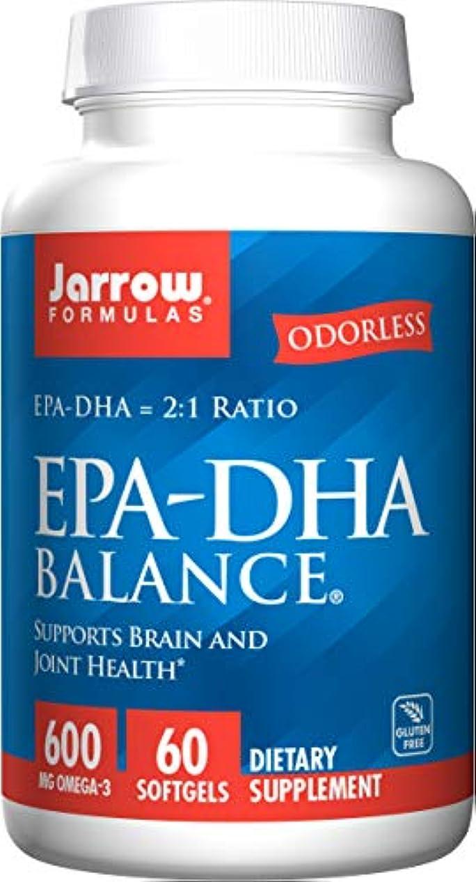 花瓶拒絶郵便番号EPA-DHA バランス 60ソフトカプセル (海外直送品)
