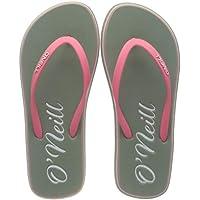 O'Neill Girls' Fg Ditsy Sandalen Flip Flops, Green (Lily Pad 6082)