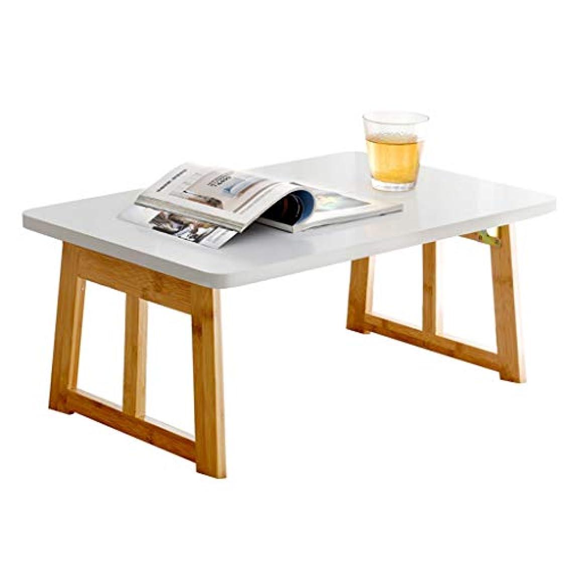 リビングルームポジティブ家庭NJ 折りたたみ式テーブル- 白い折り畳み式コンピュータデスク、家庭寮の学生スタディデスク (色 : 白, サイズ さいず : 70x40x31cm)