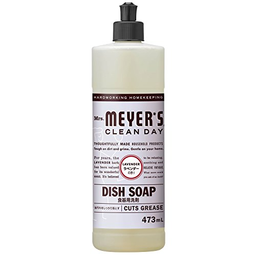 RoomClip商品情報 - ミセスマイヤーズ クリーンデイ(Mrs.Meyers Clean Day) 食器用洗剤 ラベンダーの香り 473mL