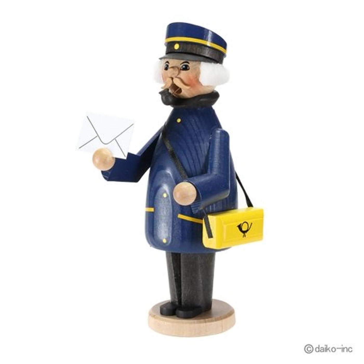 空気掻く意気揚々クーネルト kuhnert ミニパイプ人形香炉 郵便配達員