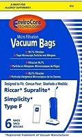 タイプF Riccar掃除機交換用バッグby ENVIROCAIRE