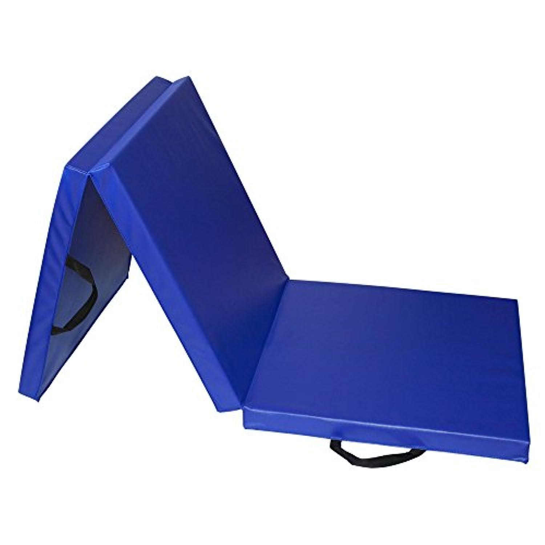 RIORES (リオレス) スポーツマット 折りたたみ式 [ 180x60x厚さ5cm ] エクササイズマット 体操マット
