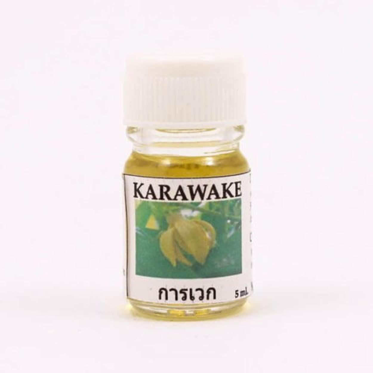 混雑乱用義務6X Karawake Aroma Fragrance Essential Oil 5ML. cc Diffuser Burner Therapy