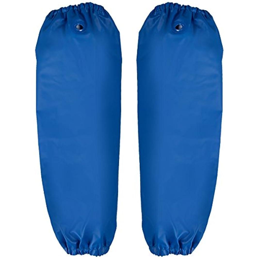 宅配便プレーヤーベックスマリンエクセル(MARINE EXCELL) グローブ 産業用レインウェア 防水腕カバー 12089001 ブルー フリーサイズ