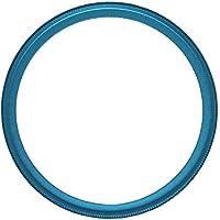 NinoLite UVフィルター 72mm 青枠 カメラ レンズ 保護 フィルターの上からレンズキャップが取り付け可能な構造