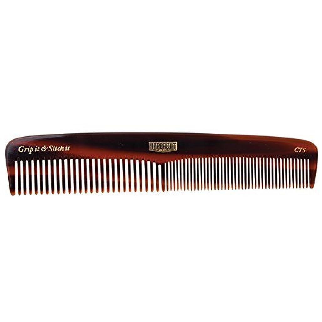ログコーンゴシップUppercut Deluxe CT5 Tortoise Shell Comb - Easy to Use, Pocket Sized - Grip It & Slick It [並行輸入品]