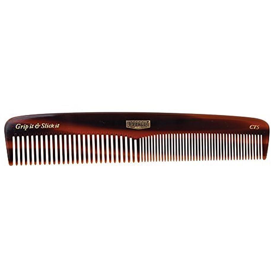 一部喜ぶ過半数Uppercut Deluxe CT5 Tortoise Shell Comb - Easy to Use, Pocket Sized - Grip It & Slick It [並行輸入品]