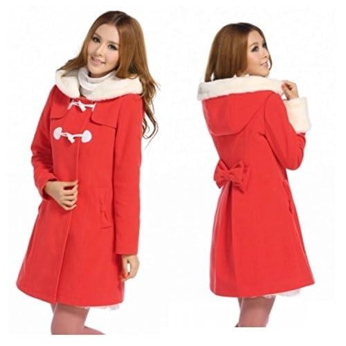 クリスマス サンタ コスプレ 女性 衣装 コート ジャケット 【エルバライナー】 5263 (M)