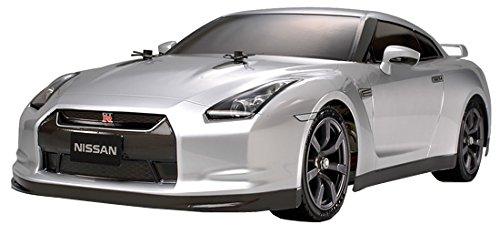 1/10電動RCカーシリーズ No.411 RCC NISSAN GT-R TT-01-E ライト付き