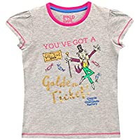 Roald Dahl Girls Charlie and The Chocolate Factory T-Shirt